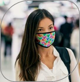Mascarilla personalizada corporativa para regalo de empresa en época de pandemia